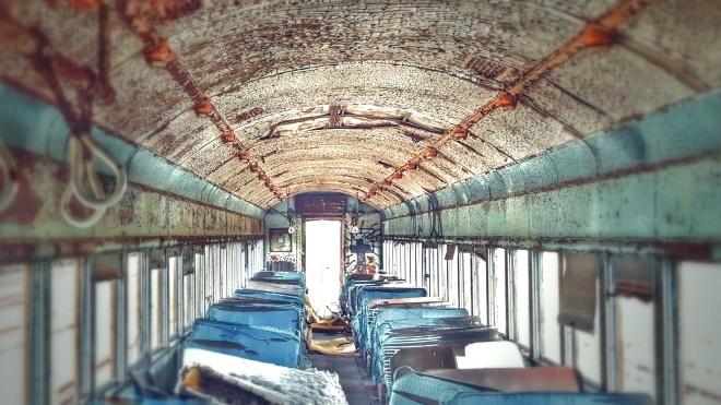 old pullman car